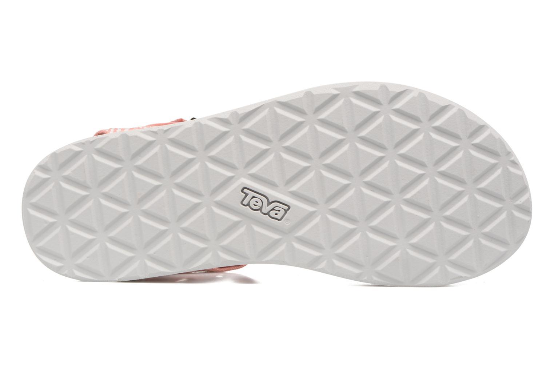 Sandalen Teva Original universal W rosa ansicht von oben