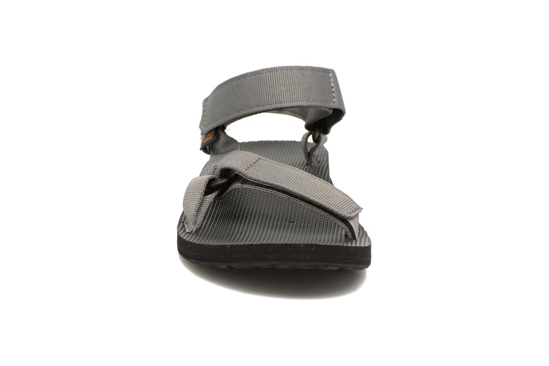 Sandales et nu-pieds Teva Original universal Gris vue portées chaussures
