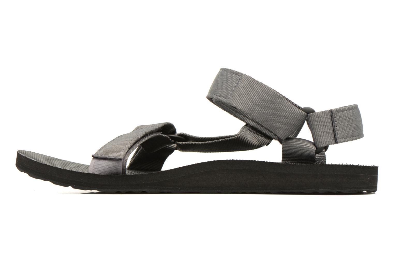 Sandales et nu-pieds Teva Original universal Gris vue face