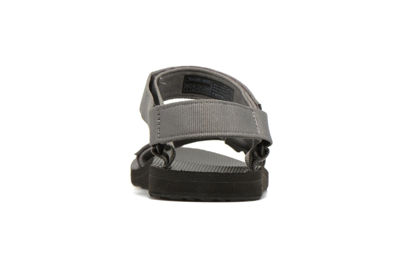 Sandales et nu-pieds Teva Original universal Gris vue droite