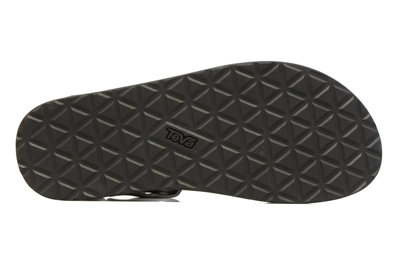 Sandales et nu-pieds Teva Original universal Gris vue haut
