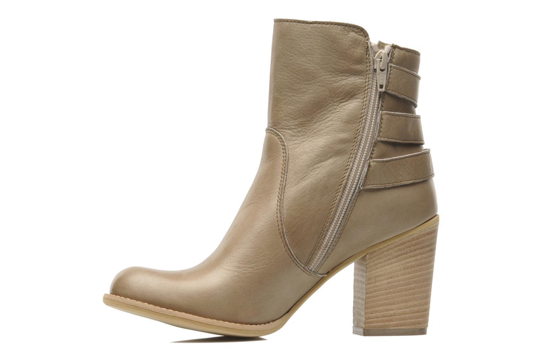 Ankle boots Sweet Lemon L.5.EVA Beige front view