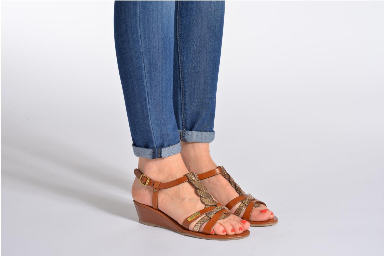 Sandals Les Tropéziennes par M Belarbi Bilboa Multicolor view from underneath / model view