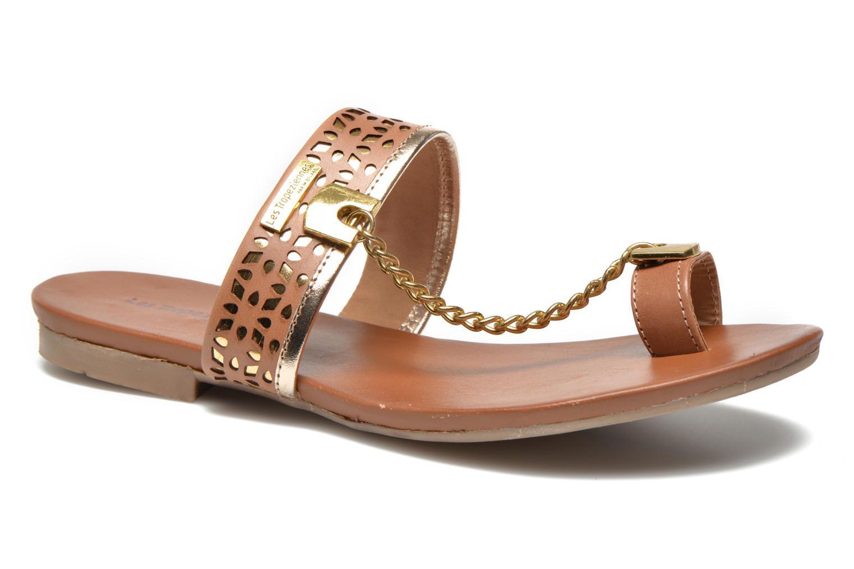 Clogs og træsko Les Tropéziennes par M Belarbi Bengali Brun detaljeret billede af skoene