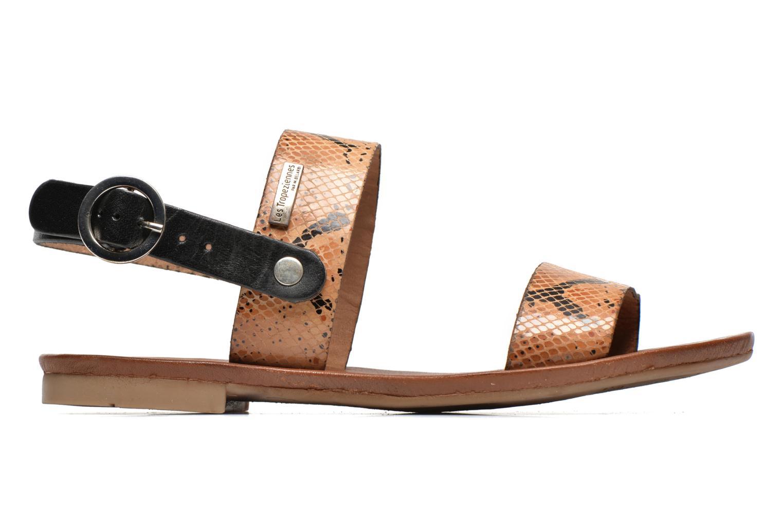 Sandalen Les Tropéziennes par M Belarbi Biniou braun ansicht von hinten