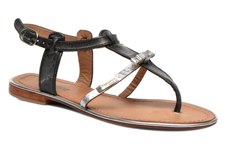 Sandaler Les Tropéziennes par M Belarbi Bantou Sort detaljeret billede af skoene