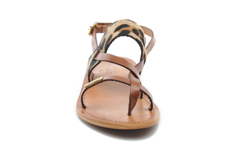 Sandali e scarpe aperte Les Tropéziennes par M Belarbi Baule Marrone modello indossato