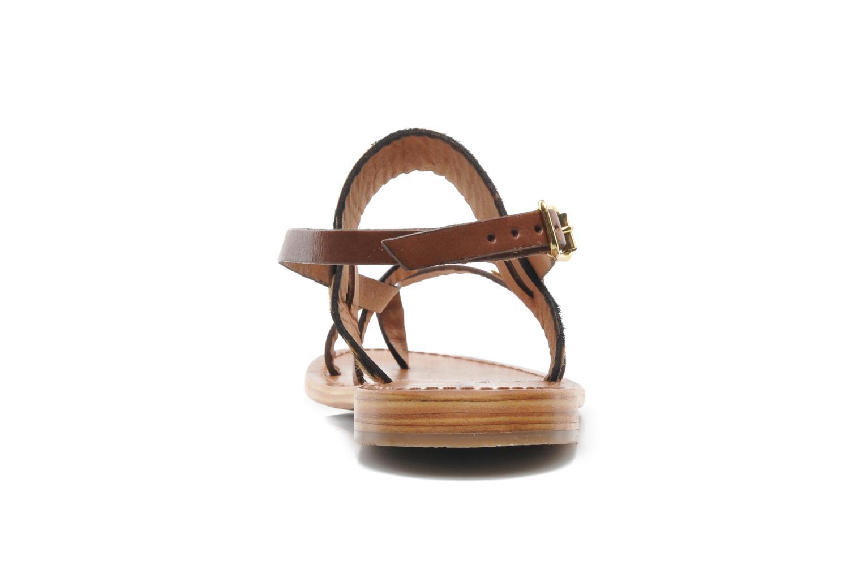 Sandali e scarpe aperte Les Tropéziennes par M Belarbi Baule Marrone immagine destra