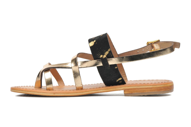 Sandales et nu-pieds Les Tropéziennes par M Belarbi Baule Multicolore vue face