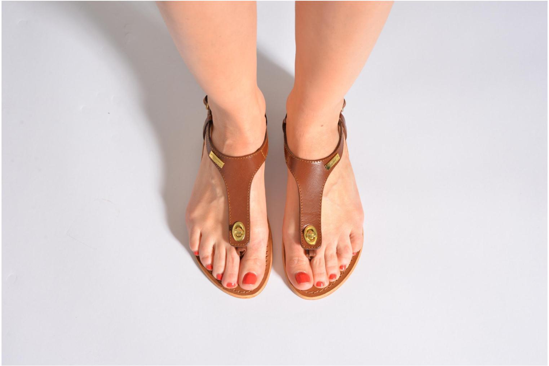 Sandales et nu-pieds Les Tropéziennes par M Belarbi Brownie Marron vue bas / vue portée sac