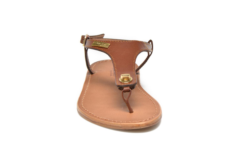 Sandales et nu-pieds Les Tropéziennes par M Belarbi Brownie Marron vue portées chaussures