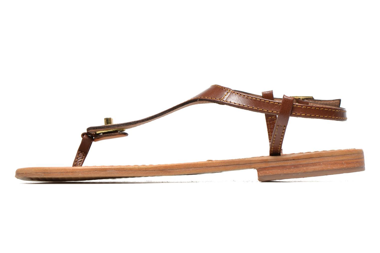 Sandales et nu-pieds Les Tropéziennes par M Belarbi Brownie Marron vue face