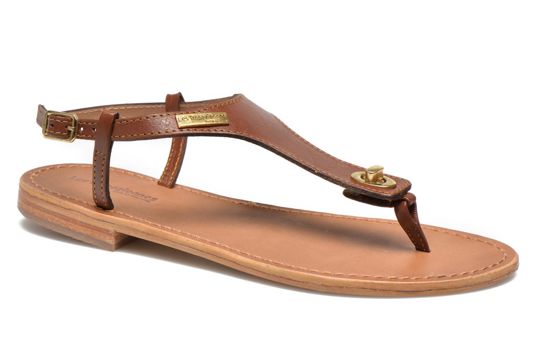 Sandaler Les Tropéziennes par M Belarbi Brownie Brun detaljeret billede af skoene