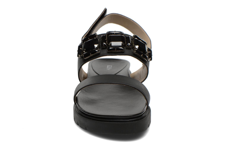 Sandales et nu-pieds Eden Pivoine Noir vue portées chaussures