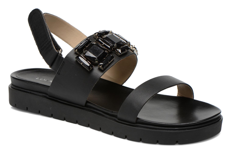 Sandales et nu-pieds Eden Pivoine Noir vue détail/paire