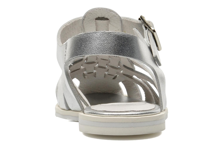 Sandales et nu-pieds Yep Bernice Argent vue droite