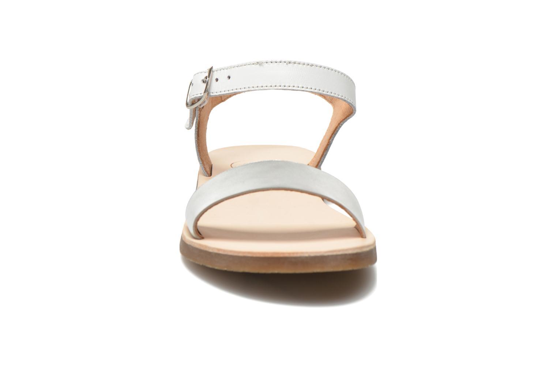Sandals Yep Biarritz White model view