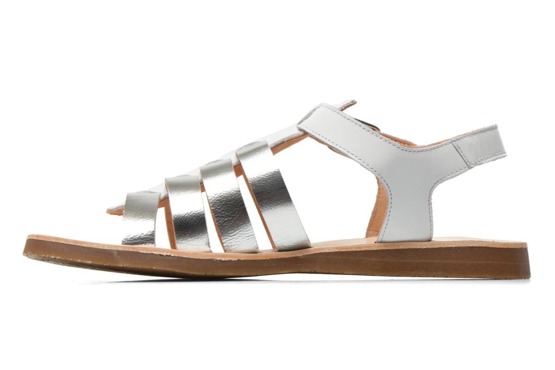 Sandales et nu-pieds Yep Bilbao Blanc vue face