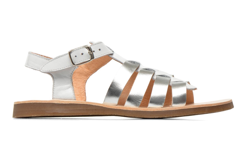 Sandales et nu-pieds Yep Bilbao Blanc vue derrière