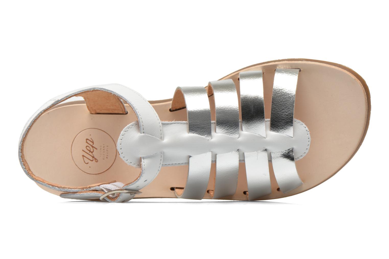 Sandales et nu-pieds Yep Bilbao Blanc vue gauche