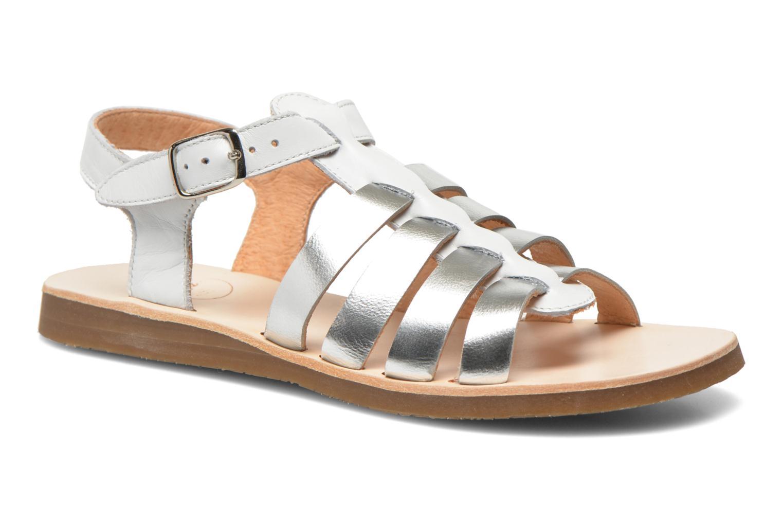 Sandales et nu-pieds Yep Bilbao Blanc vue détail/paire