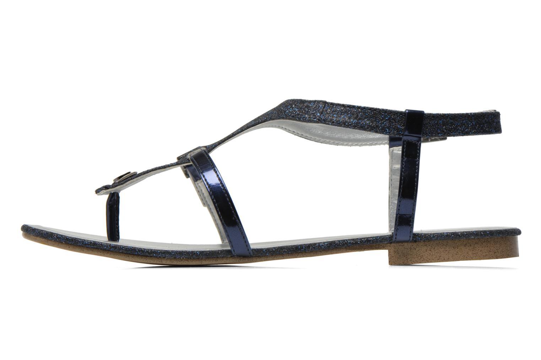 Sandales et nu-pieds JB MARTIN 2Gaelia Bleu vue face