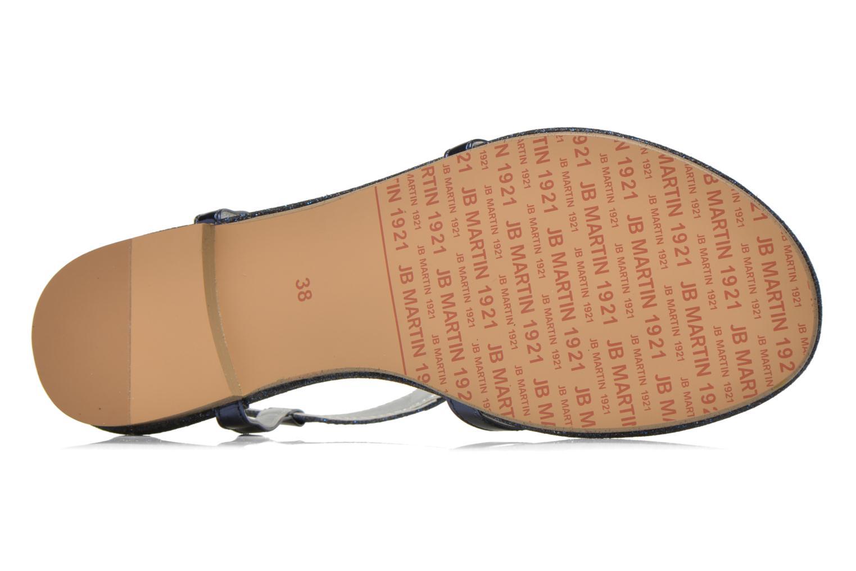 Sandales et nu-pieds JB MARTIN 2Gaelia Bleu vue haut