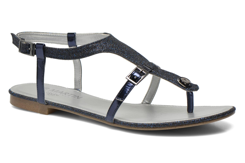 Sandals JB MARTIN 2Gaelia Blue detailed view/ Pair view
