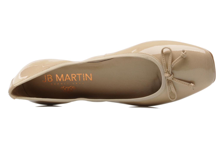 Ballerines JB MARTIN Trust Beige vue gauche