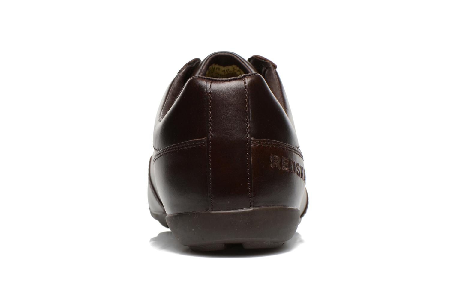 Trainers Redskins Guiz Brown view from the right