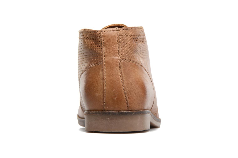 Zapatos con cordones Redskins Wolna Marrón vista lateral derecha