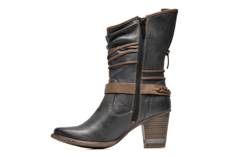 Bottines et boots Mustang shoes Louison Gris vue face