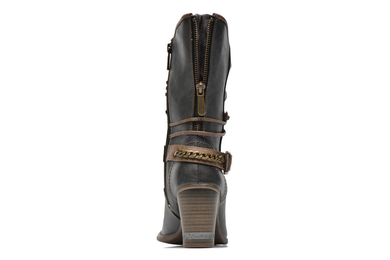 Bottines et boots Mustang shoes Louison Gris vue droite