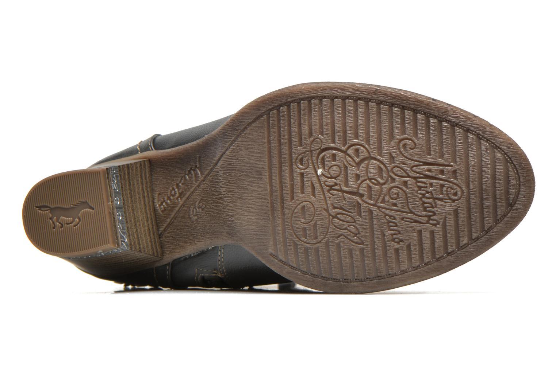 Bottines et boots Mustang shoes Louison Gris vue haut