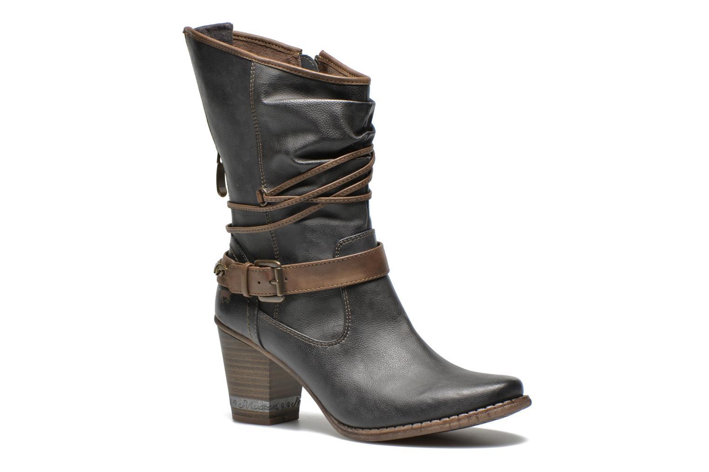 Bottines et boots Mustang shoes Louison Gris vue détail/paire