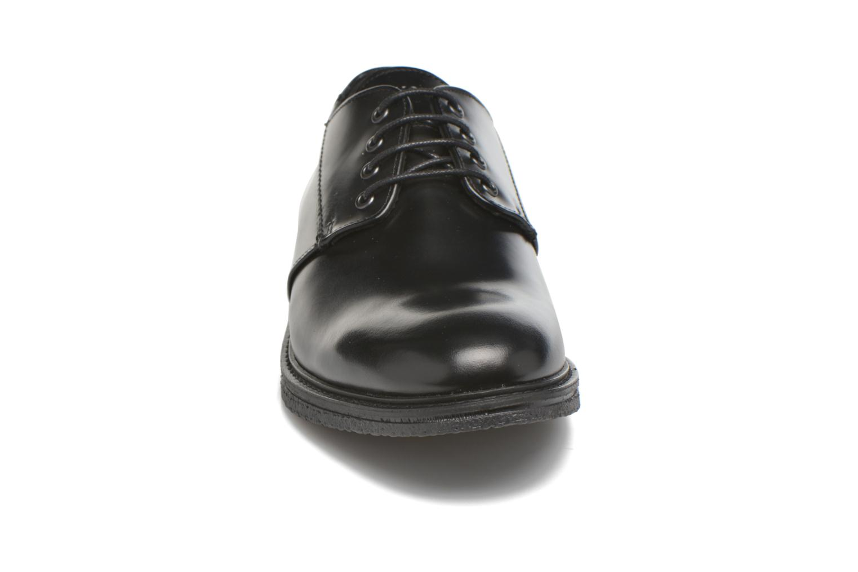Schnürschuhe Schmoove Shyboy derby schwarz schuhe getragen