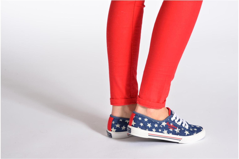 Sneaker Pepe jeans Aberlady Jean Star mehrfarbig ansicht von unten / tasche getragen