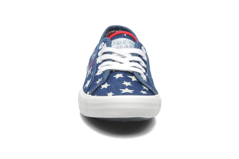 Baskets Pepe jeans Aberlady Jean Star Multicolore vue portées chaussures