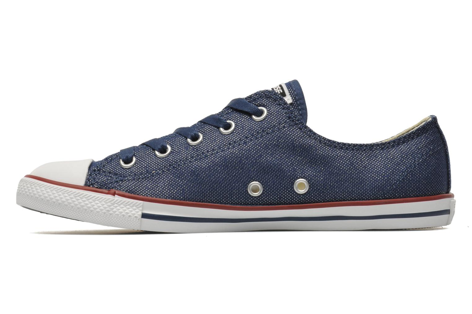 Trainers Converse Dainty Sheer Ox W Blue front view