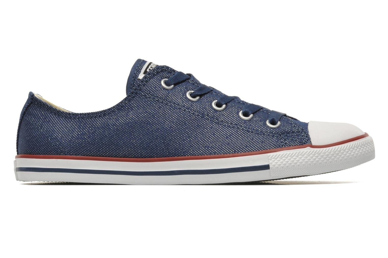 Trainers Converse Dainty Sheer Ox W Blue back view