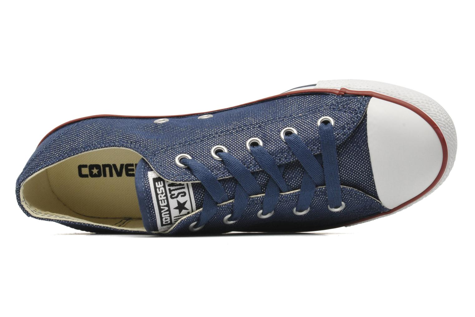 Trainers Converse Dainty Sheer Ox W Blue view from the left