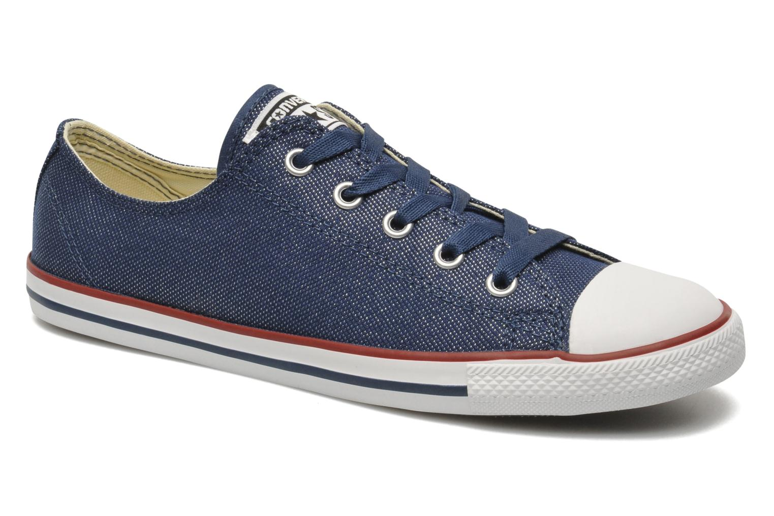 Trainers Converse Dainty Sheer Ox W Blue detailed view/ Pair view
