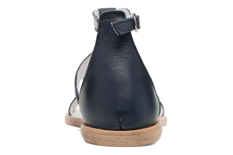 Sandales et nu-pieds Acebo's Constellé Bleu vue droite