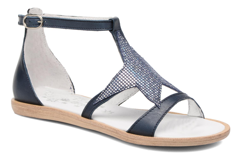 Sandaler Acebo's Constellé Blå detaljeret billede af skoene