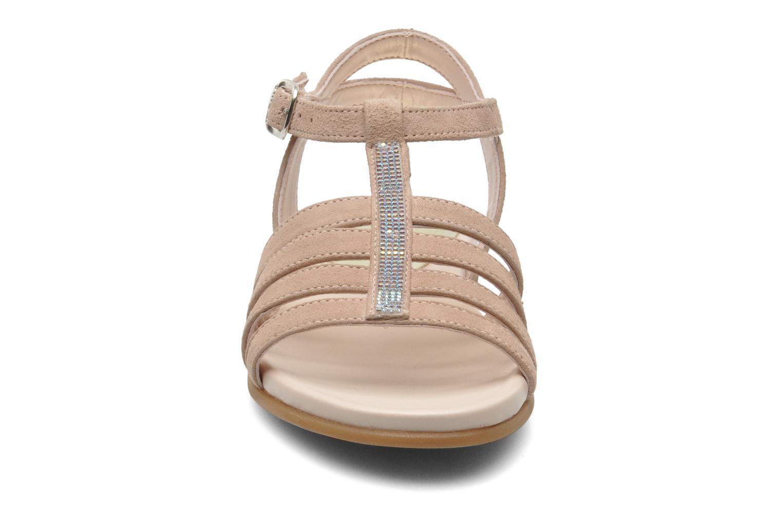 Sandales et nu-pieds Unisa Leire_KS Rose vue portées chaussures