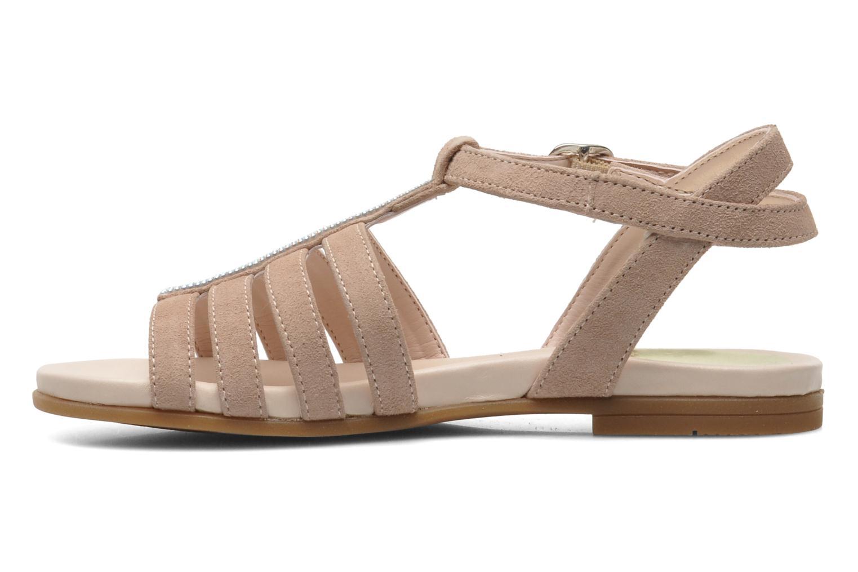 Sandales et nu-pieds Unisa Leire_KS Rose vue face
