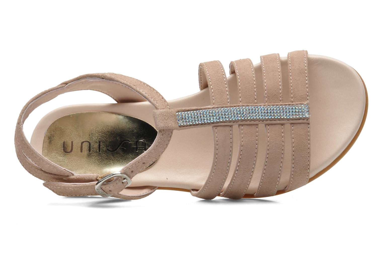 Sandales et nu-pieds Unisa Leire_KS Rose vue gauche