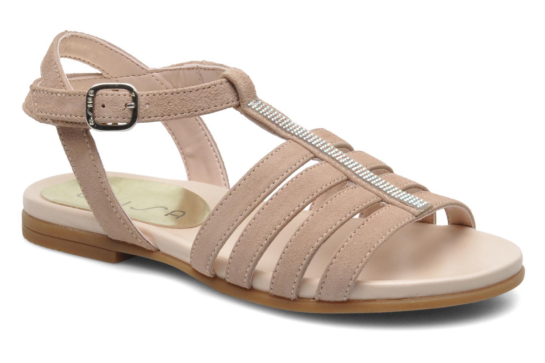 Sandales et nu-pieds Unisa Leire_KS Rose vue détail/paire