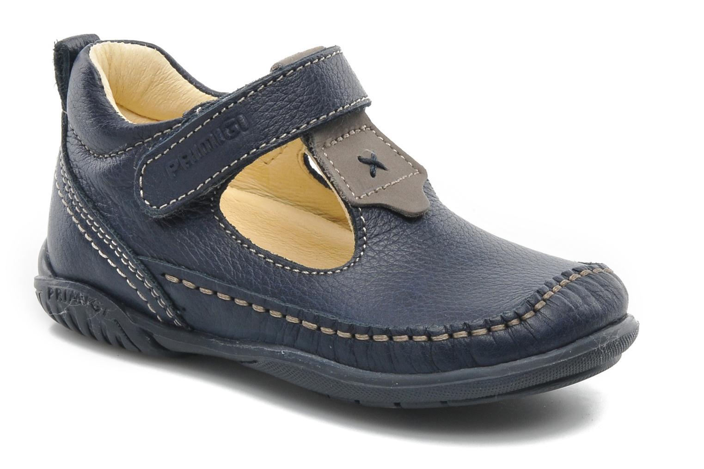 Bottines et boots Primigi BLUME 1-E Bleu vue détail/paire