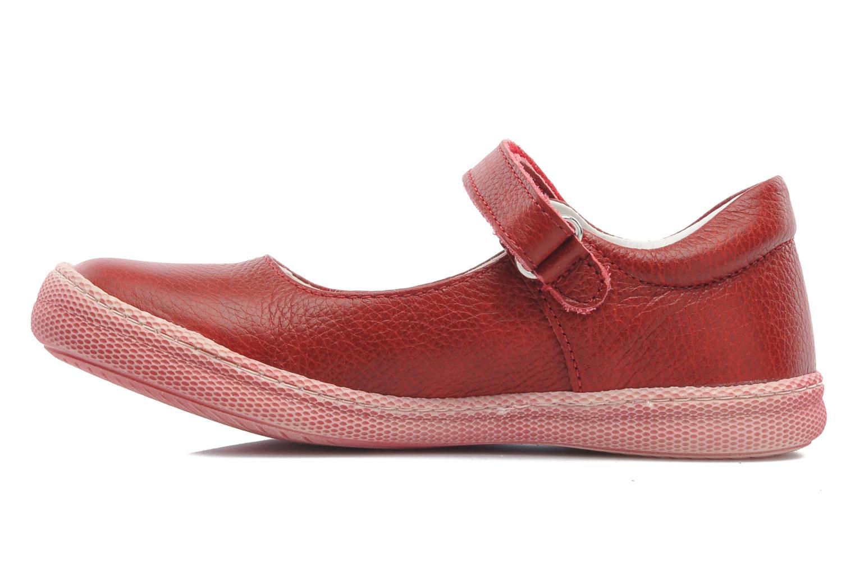 Ballerinas Primigi MORINE 1-E rot ansicht von vorne
